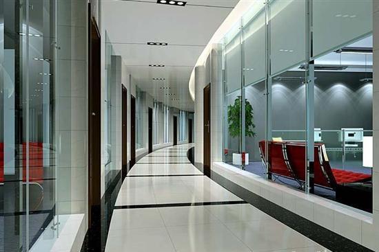 高端铝型材玻璃隔断16