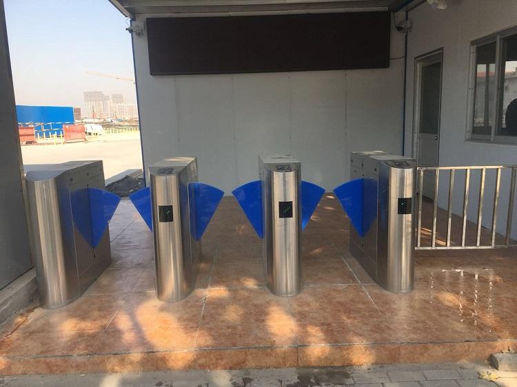 菏泽市上海建工中心之城项目部劳务门禁管理系统